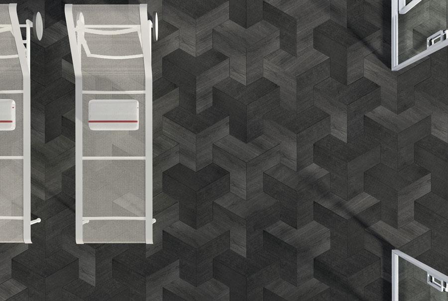 Pavimento Grigio Antracite : Il parquet grigio scuro u quadrolegno
