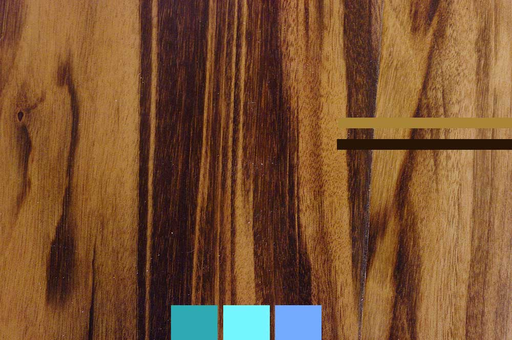 tigerwood colore